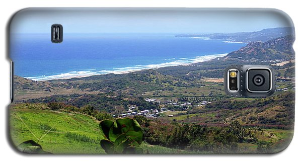 Galaxy S5 Case featuring the photograph View From Cherry Hill, Barbados by Kurt Van Wagner