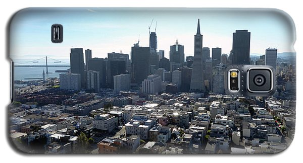 Galaxy S5 Case featuring the photograph View From Coit Tower by Steven Spak