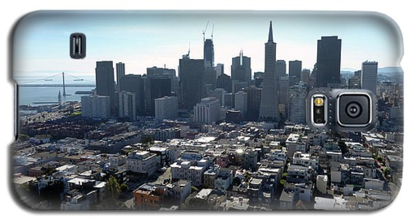 View From Coit Tower Galaxy S5 Case by Steven Spak