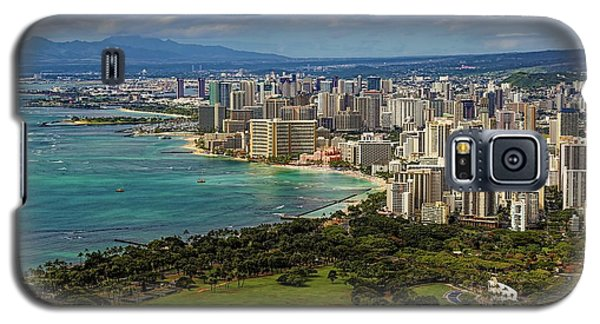View From Diamond Head Galaxy S5 Case