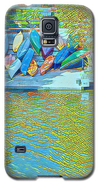 View From East Side Boardwalk Galaxy S5 Case
