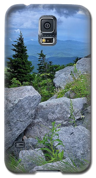 View From Grandfather Mtn Nc Galaxy S5 Case