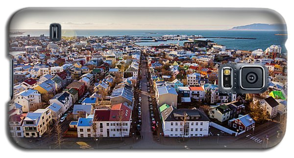 View From Hallgrimskirka Galaxy S5 Case by Wade Courtney