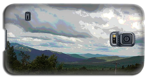 Galaxy S5 Case featuring the photograph View From Mount Washington IIi by Suzanne Gaff