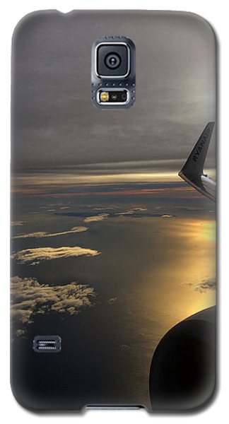 View From Plane  Galaxy S5 Case