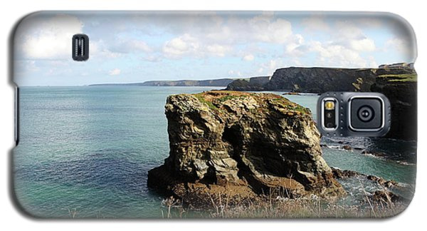 Galaxy S5 Case featuring the photograph View From Porth Peninsula by Nicholas Burningham