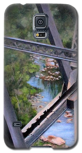 View From The Bridge--sedona, Az Galaxy S5 Case by Mary McCullah