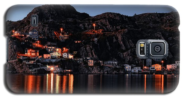 View From The Harbor St Johns Newfoundland Canada At Dusk Galaxy S5 Case