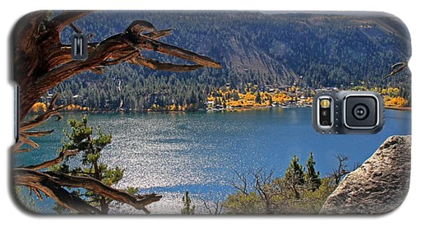 Galaxy S5 Case featuring the photograph View From The Top Of June Lake by Donna Kennedy