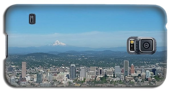 View Of Downtown Portland Oregon From Pittock Mansion Galaxy S5 Case