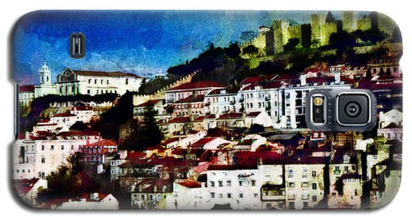 View Of Lisbon Galaxy S5 Case