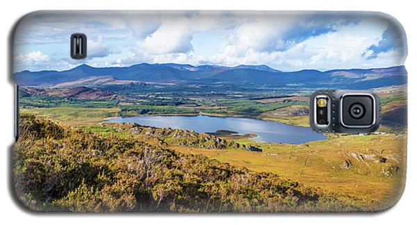 Galaxy S5 Case featuring the photograph View Of Lough Acoose In Ballycullane From The Foothill Of Macgil by Semmick Photo