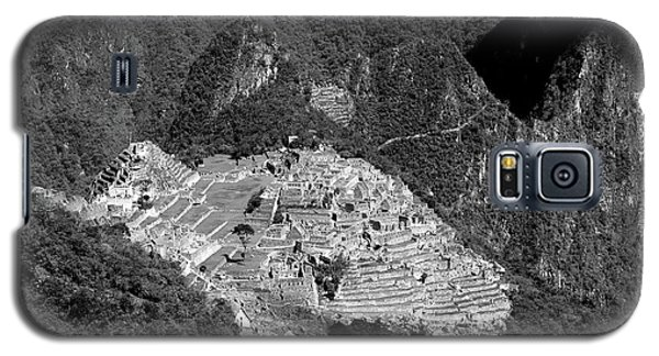 View Of Machu Picchu From The Inca Trail Galaxy S5 Case