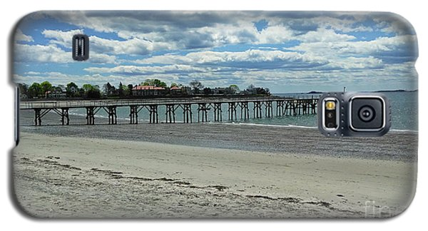 View Of Pier. Fisherman's Beach, Swampscott, Ma Galaxy S5 Case