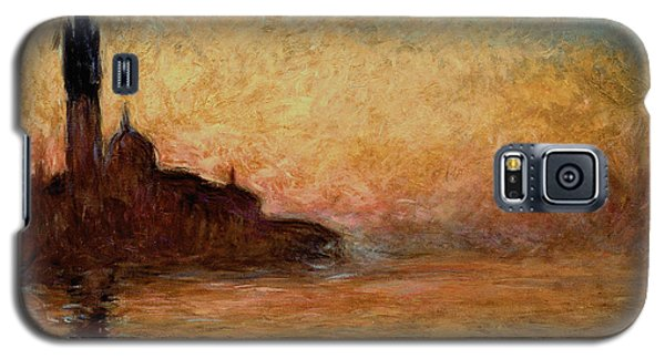 View Of San Giorgio Maggiore Galaxy S5 Case by Claude Monet