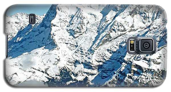 View Of The Eiger From The Piz Gloria Galaxy S5 Case