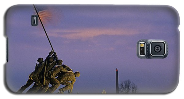 View Of The Iwo Jima Monument Galaxy S5 Case