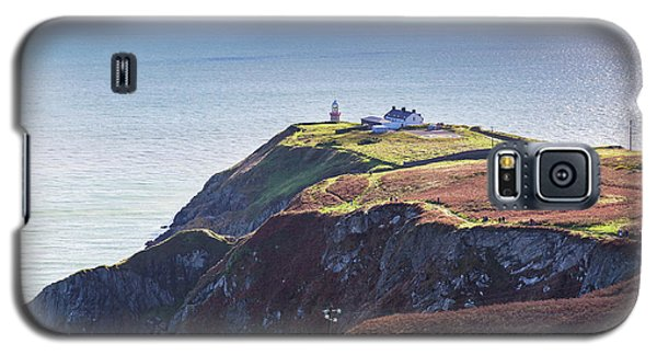 Galaxy S5 Case featuring the photograph View Of The Trails On Howth Cliffs And Howth Head In Ireland by Semmick Photo