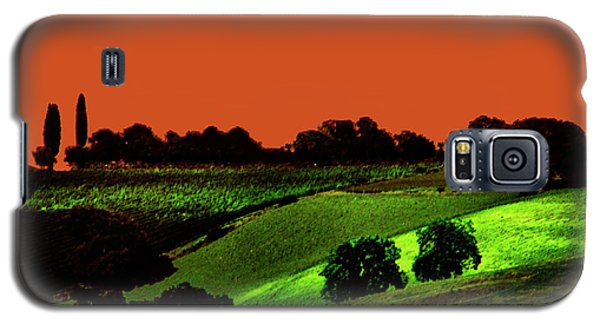 View Of Tuscany Galaxy S5 Case
