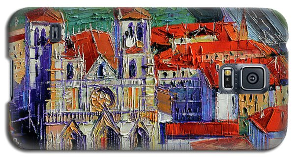 View Over Cathedral Saint Jean Lyon Galaxy S5 Case