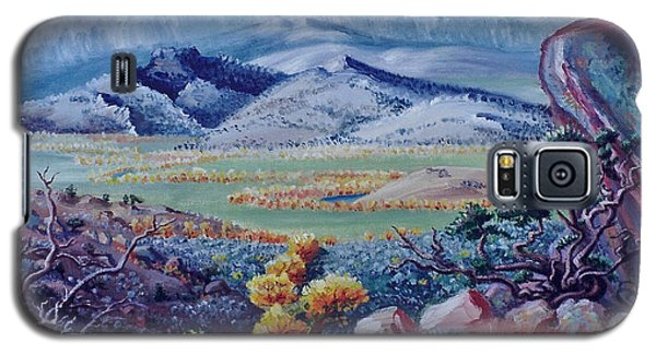 Galaxy S5 Case featuring the painting View South From Cedar Breaks by Dawn Senior-Trask