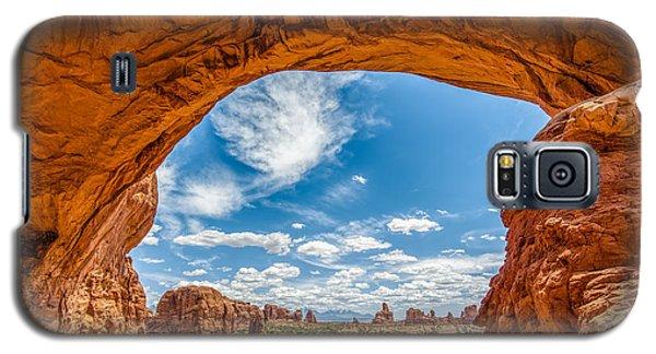 View Through Double Arch Galaxy S5 Case