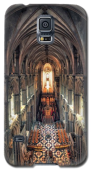 View Through Ely Cathedral Galaxy S5 Case