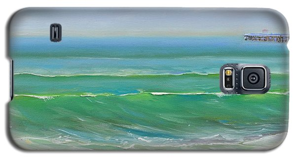 View To The Pier Galaxy S5 Case