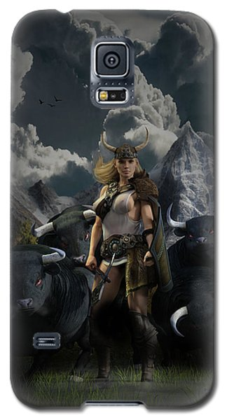 Viking Gefjon Galaxy S5 Case