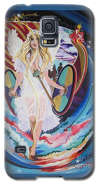 Blaa Kattproduksjoner   Welcomes Viking Goddess  To  Egypt Galaxy S5 Case