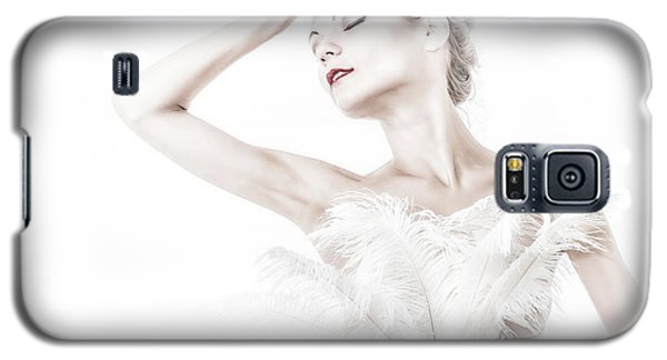 Viktory In White - Feathered Galaxy S5 Case