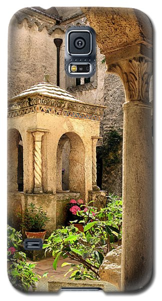 Villa Cimbrone. Ravello Galaxy S5 Case by Jennie Breeze