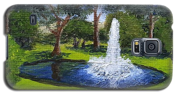 Village Fountain Galaxy S5 Case