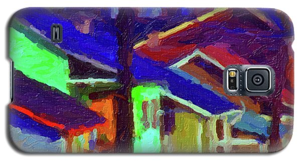 Village Houses Galaxy S5 Case
