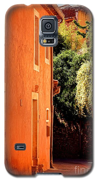 Galaxy S5 Case featuring the photograph Village Street In Provence by Olivier Le Queinec
