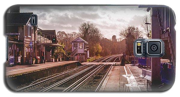 The Village Train Station Galaxy S5 Case