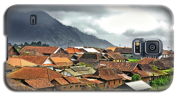 Galaxy S5 Case featuring the photograph Village View by Charuhas Images