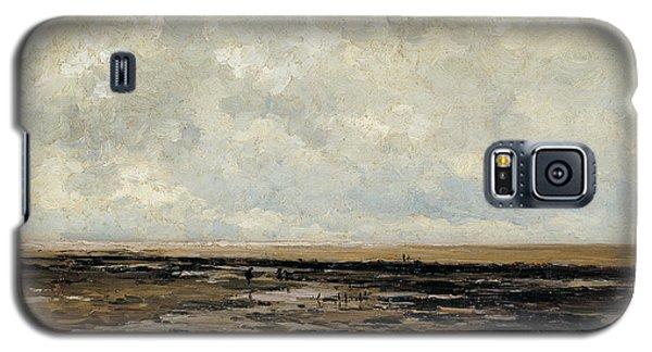 Villerville Beach In Normandy Galaxy S5 Case
