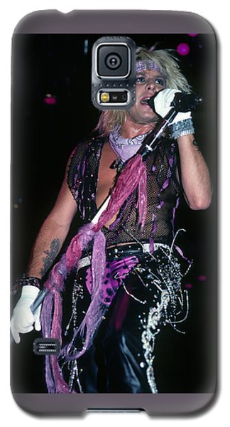 Vince Neil Of Motley Crue Galaxy S5 Case