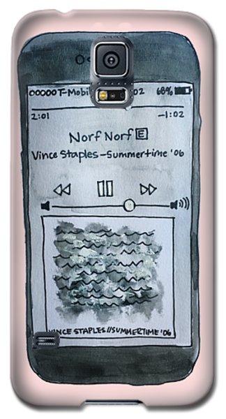Vince Staples Galaxy S5 Case