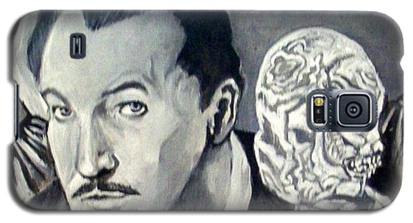 Galaxy S5 Case featuring the painting Vincent Price by Paul Weerasekera