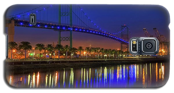 Vincent Thomas Bridge Galaxy S5 Case by Eddie Yerkish
