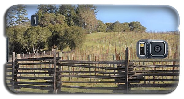 Vineyard In The Spring Galaxy S5 Case