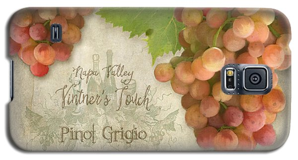 Vineyard - Napa Valley Vintner's Touch Pinot Grigio Grapes  Galaxy S5 Case