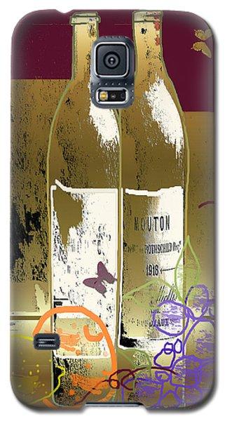 Vin, Fruit, Et Papillons Galaxy S5 Case