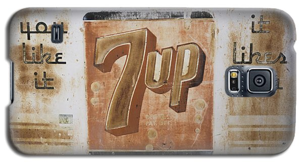 Vintage 7 Up Sign Galaxy S5 Case
