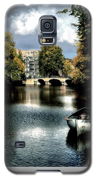 Galaxy S5 Case featuring the photograph Vintage Amsterdam by Jim Hill