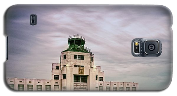 Vintage Architectural Photograph Of The 1940 Air Terminual Museum - Hobby Airport Houston Texas Galaxy S5 Case