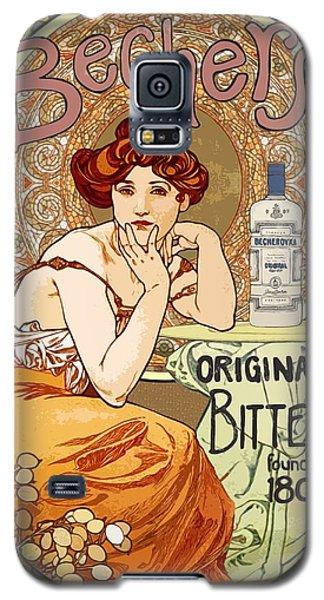 Vintage Art Nouveau Bechers Original Bitter 1807 Galaxy S5 Case