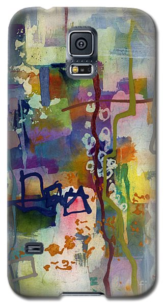 Galaxy S5 Case featuring the painting Vintage Atelier 2 by Hailey E Herrera